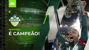 Palmeiras é TETRA da Copa do Brasil e conquista TRÍPLICE COROA! | CAMISA 10 - 08/03/21