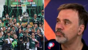 Mauro Beting comentando o título do Palmeiras na Copa do Brasil
