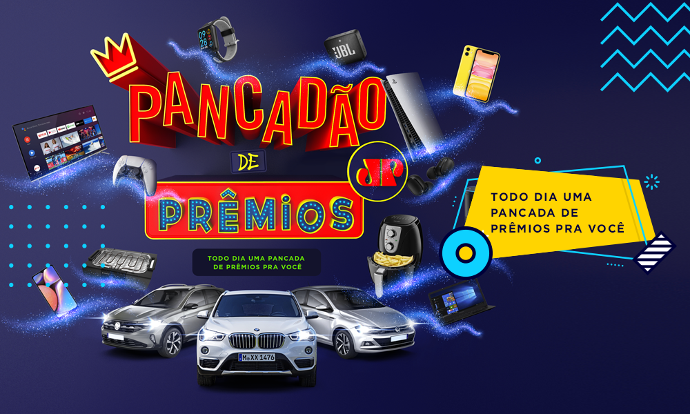 Banner da promoção Pancadão de Prêmios