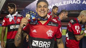 Pedro revela sentimento de ser reserva no Flamengo em 2020: 'Não foi fácil'