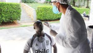 Jogador da Ponte Preta faz teste de diagnóstico para a Covid-19
