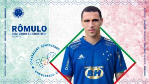 Rômulo é o novo reforço do Cruzeiro