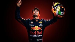 Sergio Pérez, piloto da Red Bull, recebeu a vacina contra a Covid-19
