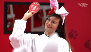 Thaís venceu a Prova do Anjo