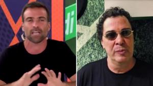 Thiago Asmar criticou o comentarista Walter Casagrande por 'politizar o futebol'