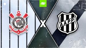 Corinthians x Ponte Preta: assista à transmissão da Jovem Pan ao vivo