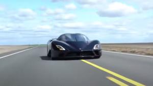 Carro Tuatara bate recorde de velocidade