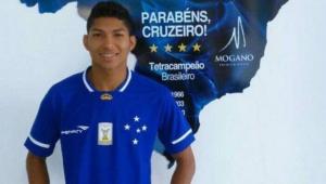 rony quando foi apresentado no Cruzeiro