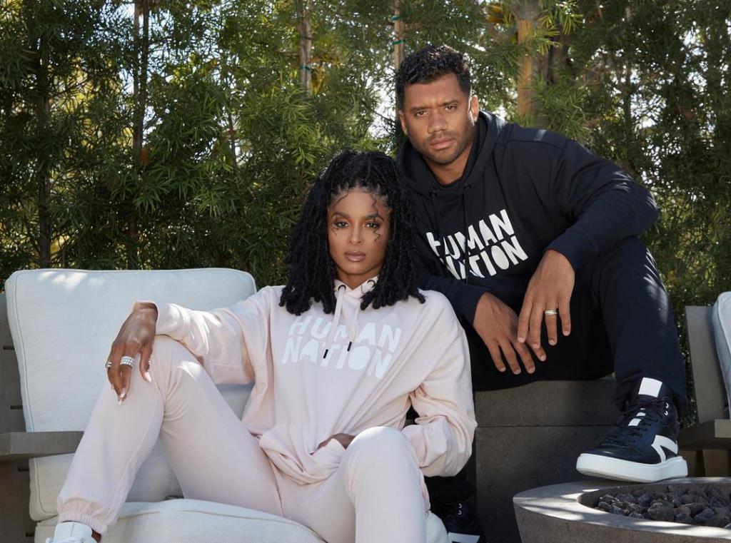 Ciara e o marido apresentarão programa em apoio à vacinação contra Covid-19 nos EUA – Jovem Pan