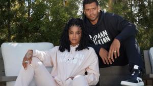 ciara e o marido, o jogador de futebol americano, Russell Wilson