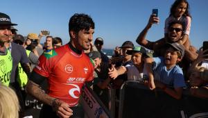 Gabriel Medina ganhou a etapa da Austrália no Circuito Mundial de Surfe