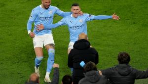 O Manchester City venceu o Borussia Dortmund por 2 a 1