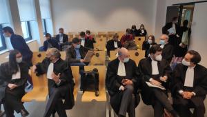 Vista do tribunal de primeira instância em Bruxelas