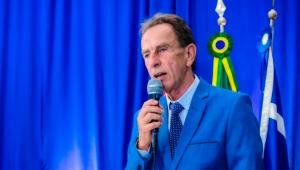 O prefeito de Aparecida, Luiz Carlos de Siqueira