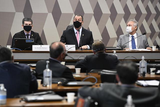 Cúpula da CPI da Covid-19 na primeira sessão