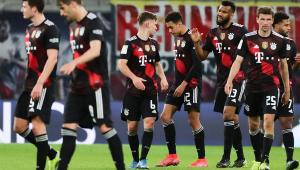 Time do Bayern de Munique em jogo contra o RB Leipzig