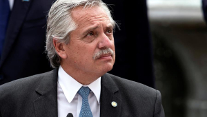 Alberto Fernández, presidente da Argentina, testou positivo para Covid-19