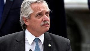 Presidente da Argentina Alberto Fernandéz