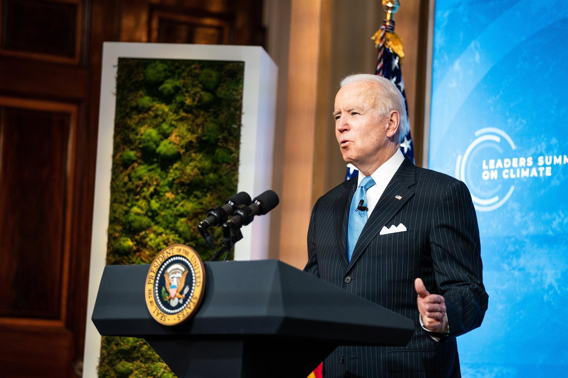 Joe Biden encerra Cúpula de Líderes sobre o Clima com discurso
