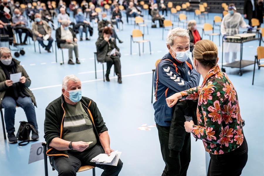 Campanha de vacinação contra a Covid-19 na Dinamarca