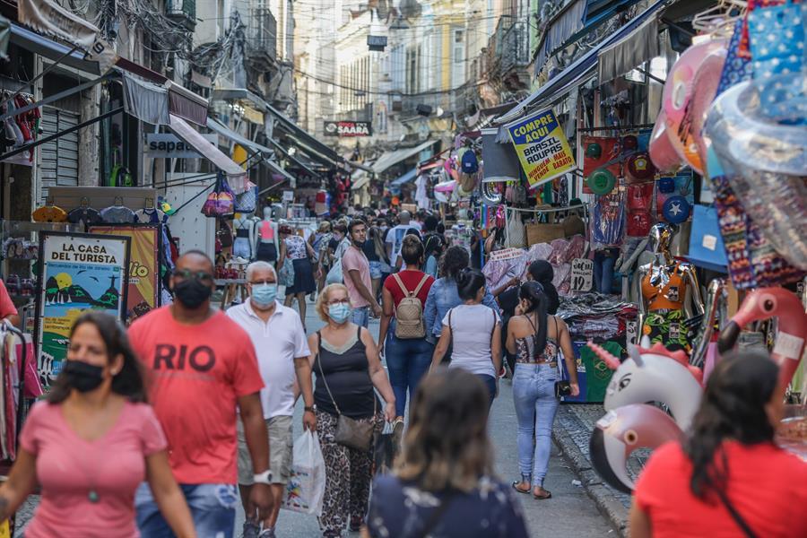 Reabertura do comércio do Rio de Janeiro