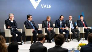 Diretores da Vale reunidos em evento da empresa em Nova York