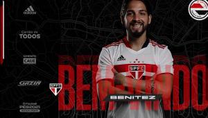 Martín Benítez é o novo reforço do São Paulo