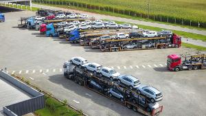 Baixa no setor de veículos foi o principal motivo para recuo na produção industrial brasileira em fevereiro