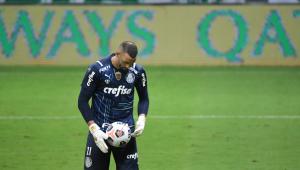 Weverton perdeu o último pênalti na final entre Palmeiras x Defensa y Justicia