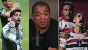 Vampeta deu a sua opinião sobre Palmeiras x São Paulo