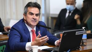 O senador Ciro Nogueira durante pronunciamento