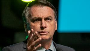 O Presidente do Brasil, Jair Bolsonaro (Sem Partido), foi até a cidade de Chapecó, em Santa Catarina