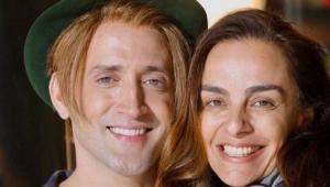 Paulo Gustavo com a amiga Susana Garcia
