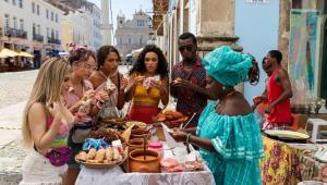 Cena do filme Carnaval em Salvador