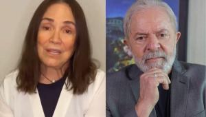 Após decisão da Justiça, Regina Duarte pede desculpas à família de Lula por fake news sobre Marisa