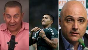 Flavio Prado falou sobre a possibilidade de Dudu voltar ao Palmeiras neste ano