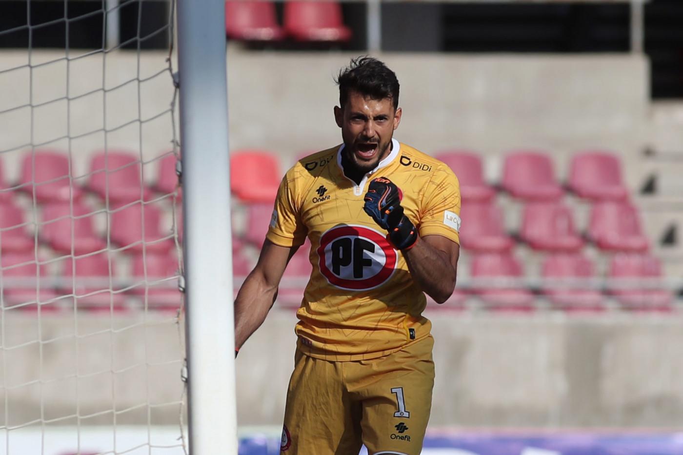 Alexis Martín Arias, goleiro do Unión la Calera, do Chile