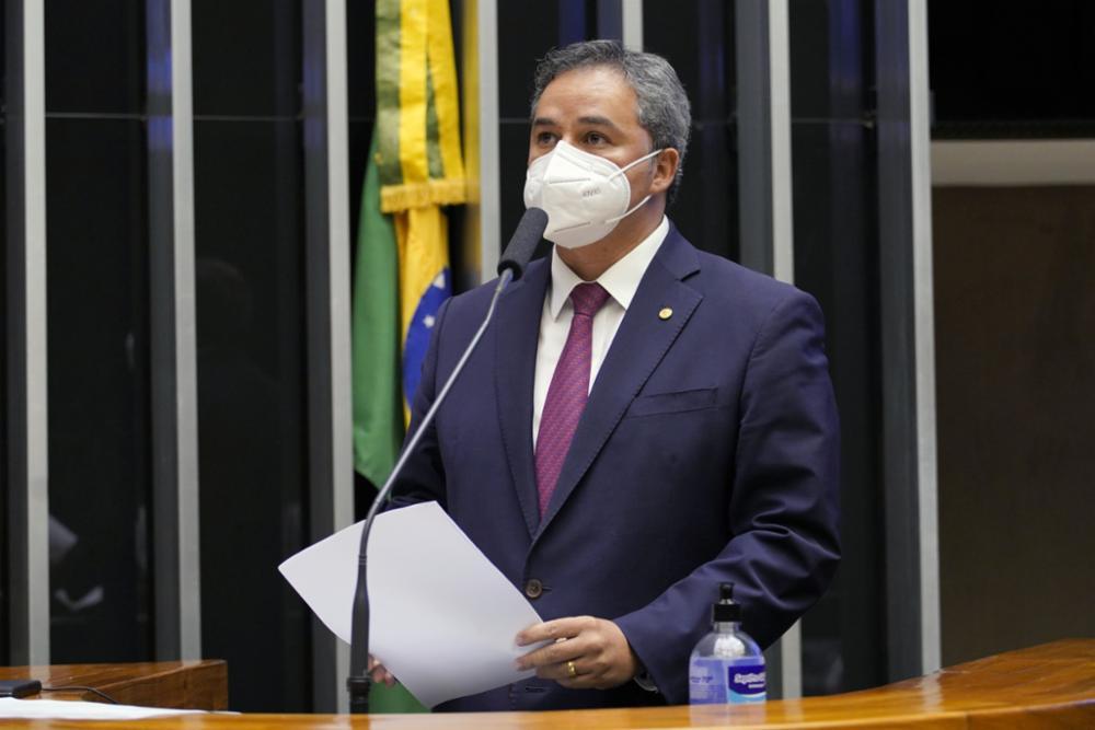 Dep. Efraim Filho durante pronunciamento na Câmara dos Deputados