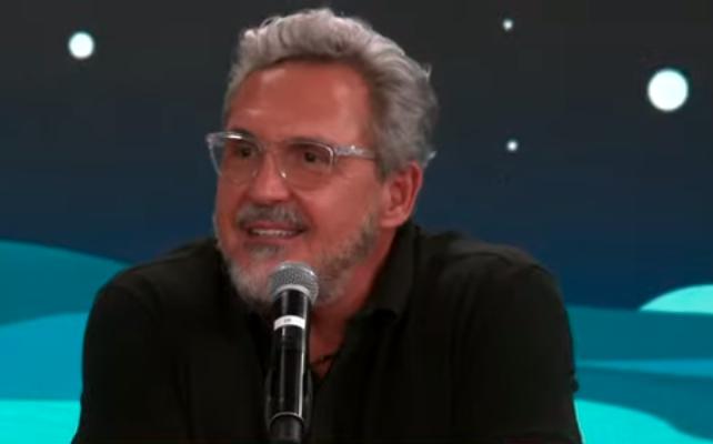 Fabrizio Fasano concede entrevista ao Pânico