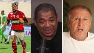 Vampeta exaltou o Flamengo, mas disse que a atual geração não é melhor que a de Zico
