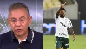 Flavio Prado criticou Luiz Adriano no Esporte em Discussão