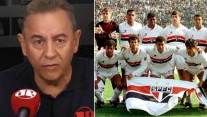 Flavio Prado revelou o motivo de ter deixado para torcer para o São Paulo