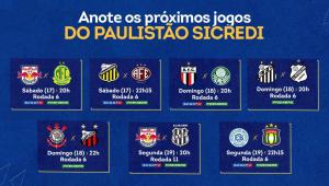 Jogos do Campeonato Paulista