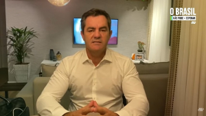 Jeferson Furlan, presidente da Fenavist, dá depoimento para a Jovem Pan