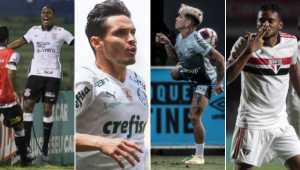 Os quatro grandes de São Paulo estão enfrentando uma maratona de jogos