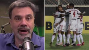 Mauro Beting exaltou o São Paulo durante o Esporte em Discussão