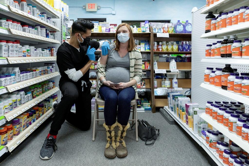 grávida de vacina contra a Covid-19 nos Estados Unidos