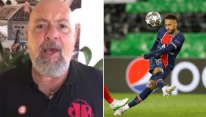 Nilson deu uma sugestão para Neymar após o craque acertar três bolas na trave