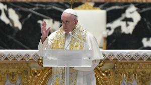 Papa Francisco faz pronunciamento de Páscoa