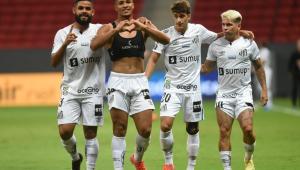 O Santos venceu o San Lorenzo pela Copa Libertadores